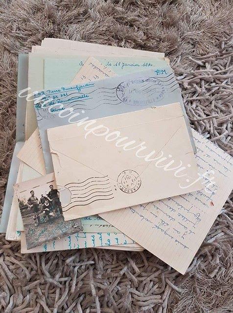 lettres DUNEUFJARDIN Pierre