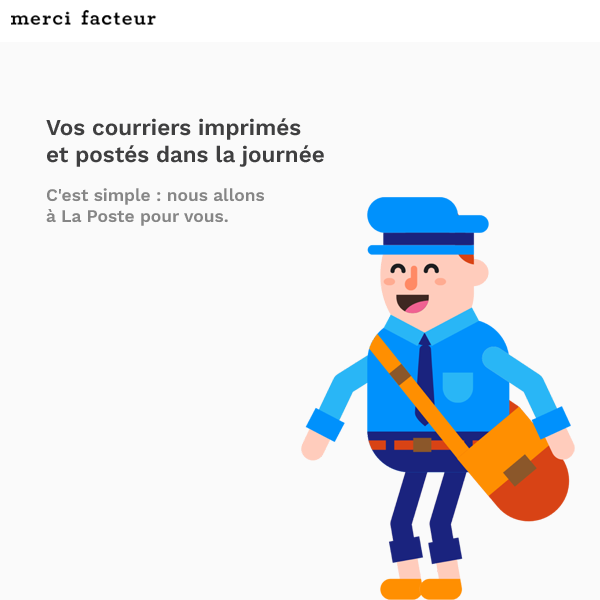 merci facteur