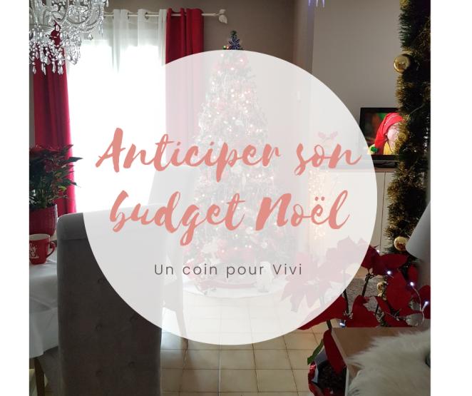 Anticiper son budget de Noël